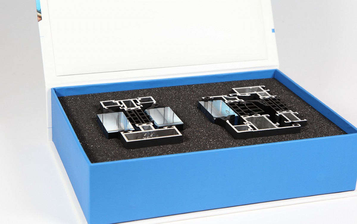 Produktverpackung mit Inlay