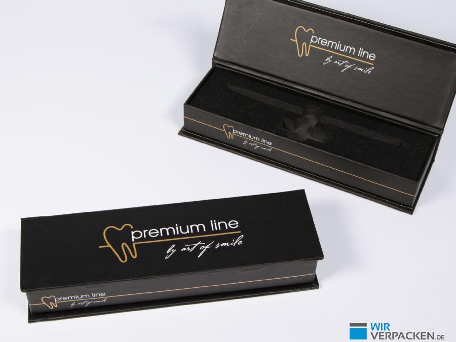 Premium Klappschachtel für Kundengeschenk