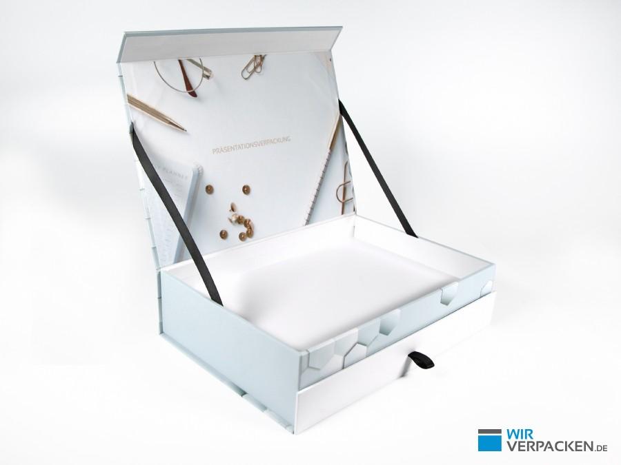 Drawer Box - Magnetklappschachtel mit Schublade