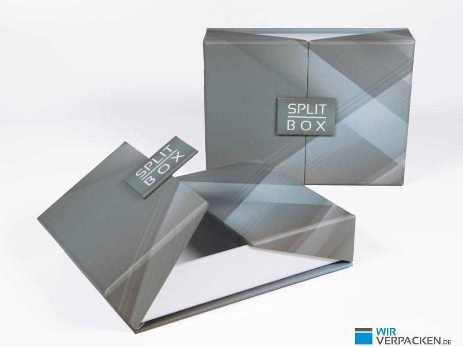 Verpackung mit kreativem Magnetverschluss