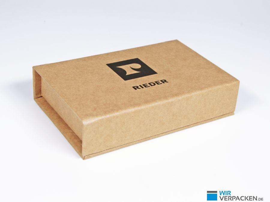 Umweltfreundlicher Verpackung mit Aufdruck