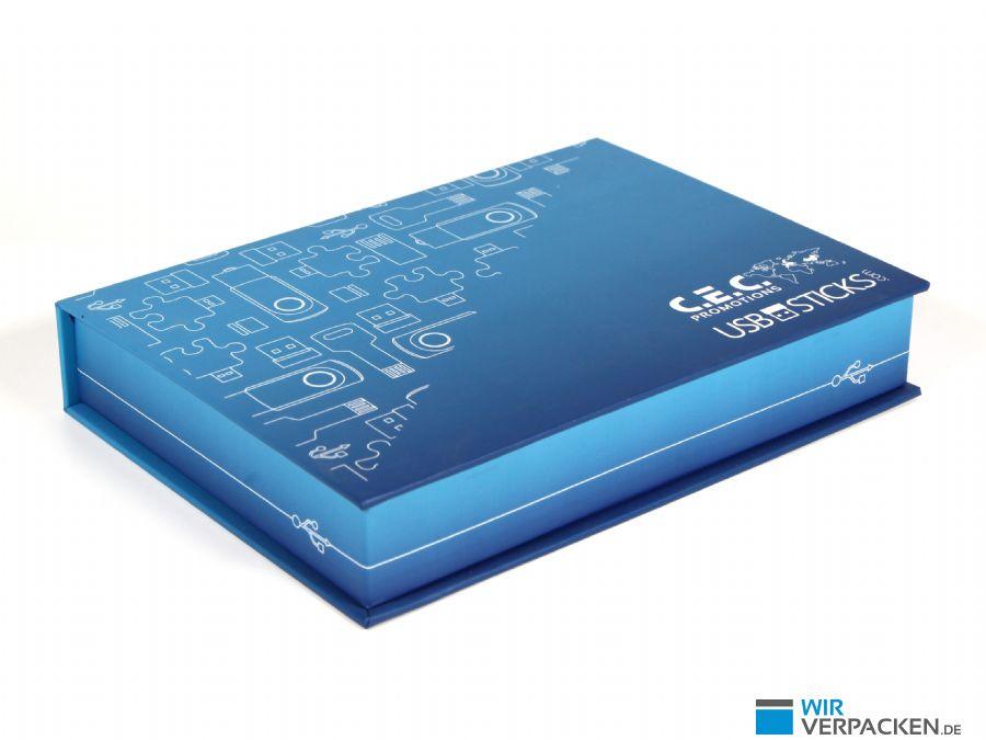 Musterverpackung für USB-Sticks