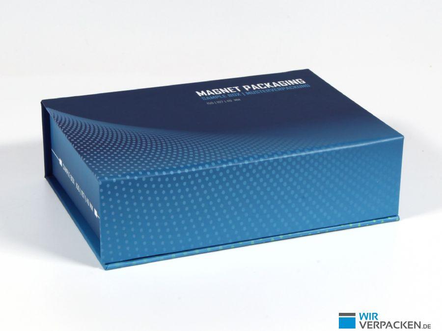 Magnetklappbox DIN A6 mit Inlay
