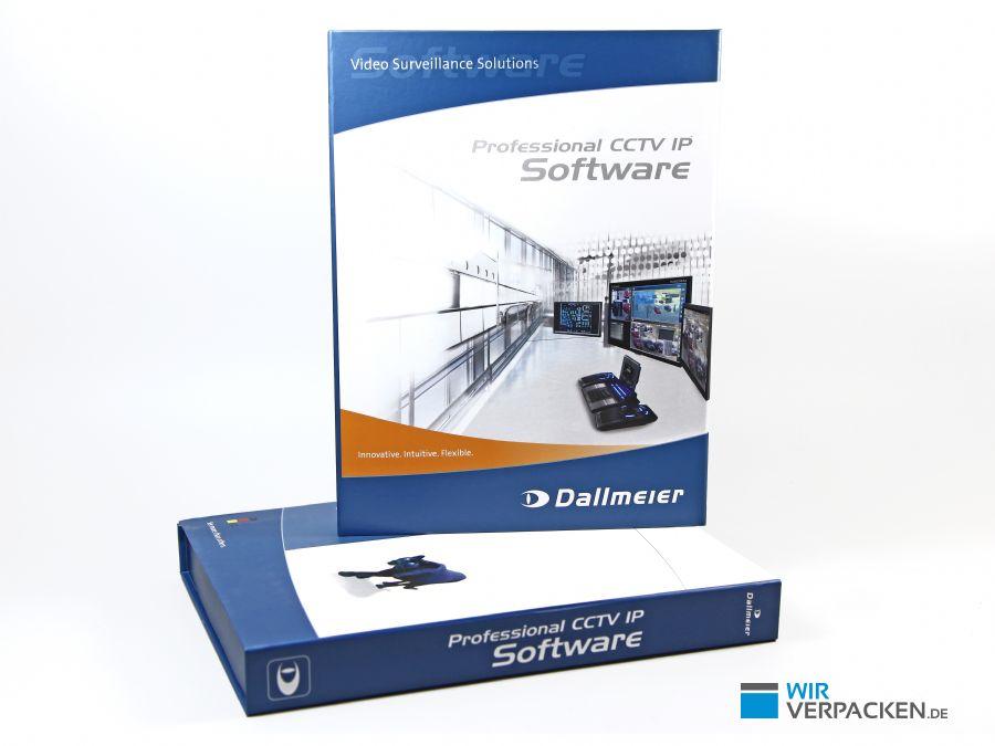 Flache Premiumverpackung für Software und Zubehör