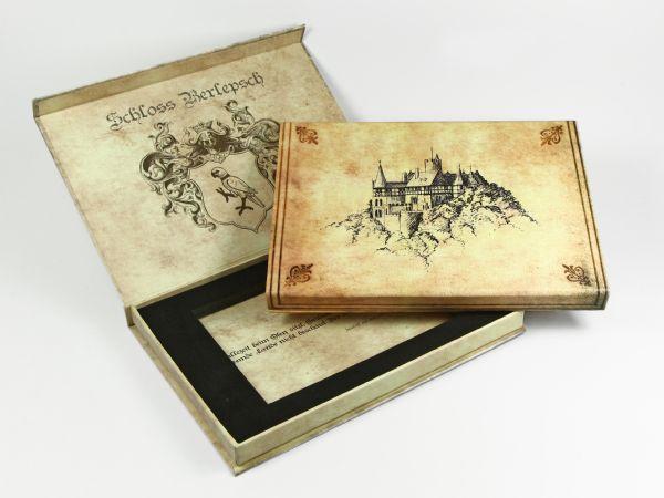 box klappbox verpackung schachtel geschenk werbung