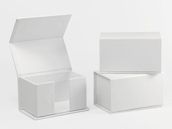 Visitenkartenbox Sonderanfertigung aus Karton, individuell bedruckbar