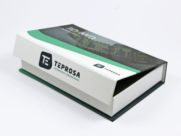 Klappbox für Industrie und Technik mit vollflächigem Aufdruck