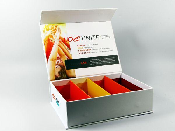 Feste, 2mm starke Innenstege zur Aufteilung der Verpackung