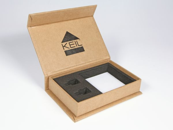 öko papier magnetbox karton papierschachtel natur digitaldruck
