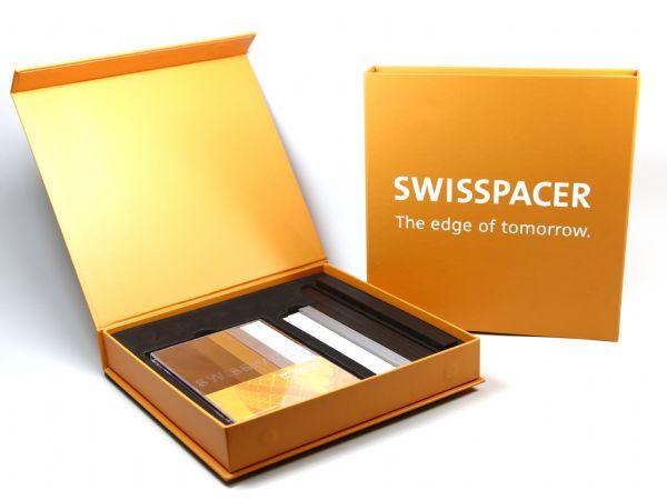 Hochwertige Präsentationsverpackung mit Inlay für verschiedene Produkte