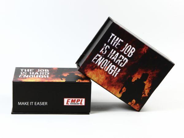 Stabile Klappbox mit vollflächigem Digitaldruck