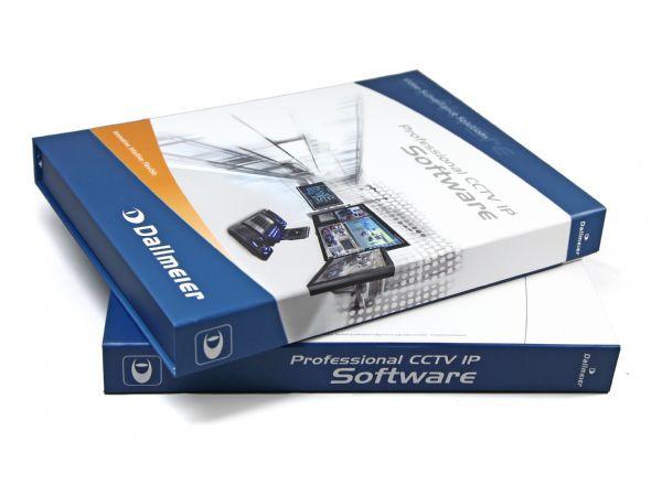Flache klappbox mit Digitaldruck als hochwertige Softwareverpackung