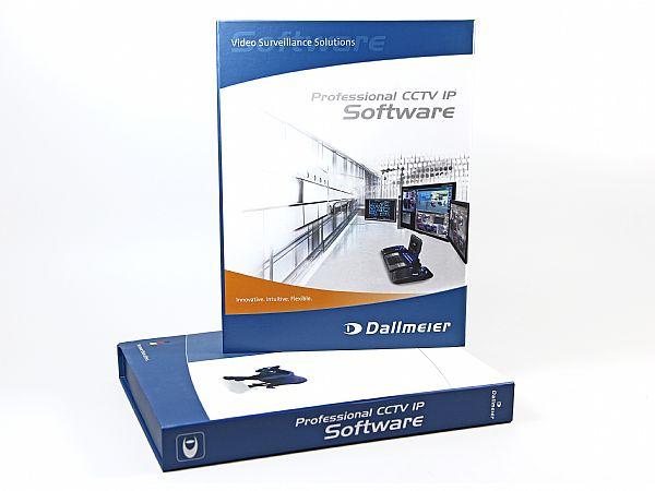 Hochwertige Softwareverpackung vollflächig bedruckt mit Inlay