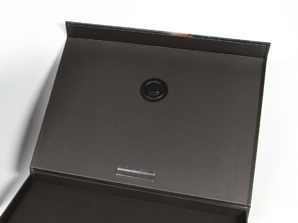 Software CD Verpackung mit CD-Halter im Deckel