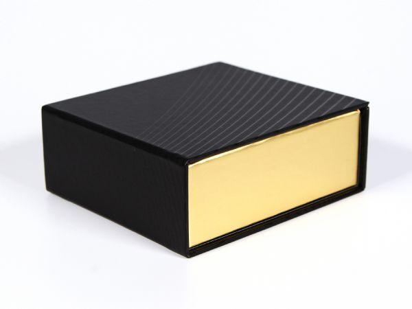 Zweifarbige Magentklappgold in schwarz/gold