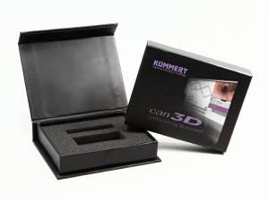 box schwarz klappbox schachtel verpackung logo