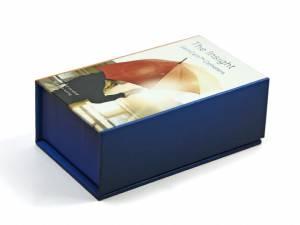 box verpackung bedruckt logo klappbox werbung