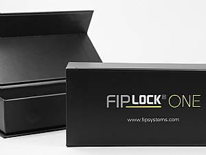 Industrie Magnetklappbox Deckel bedruckt im Schaumstoffinlay